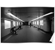 flinders underpass Poster