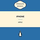 Iphone Penguin Classic Case Blue by Simon Westlake