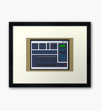SP-12 Framed Print