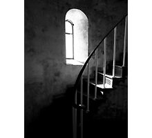 Stairs to Where..... Photographic Print