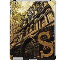Grungy Melbourne Australia Alphabet Letter S Collins Street iPad Case/Skin