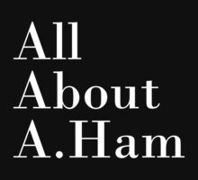 All About A.Ham (Black BG) Kids Clothes