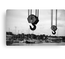 Preston Docks Canvas Print