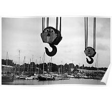 Preston Docks Poster