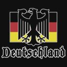 "Germany ""Deutschland"" T-Shirt by HolidayT-Shirts"