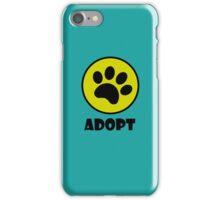 Adopt (Paw Print) iPhone Case/Skin