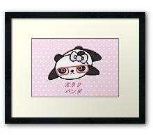 Panda Nerd Framed Print