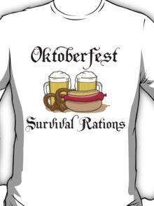 "Oktoberfest ""Survival Rations"" T-Shirt T-Shirt"