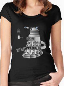 Recaffeinate Women's Fitted Scoop T-Shirt