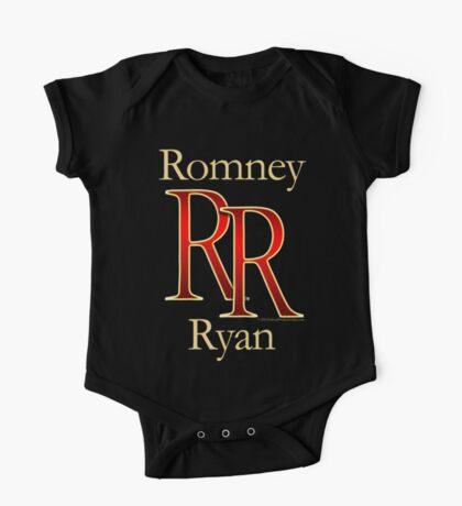 RR Romney Ryan Luxury Look T-Shirt One Piece - Short Sleeve