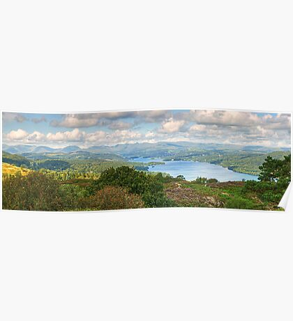 The View From Stott Park Heights Poster