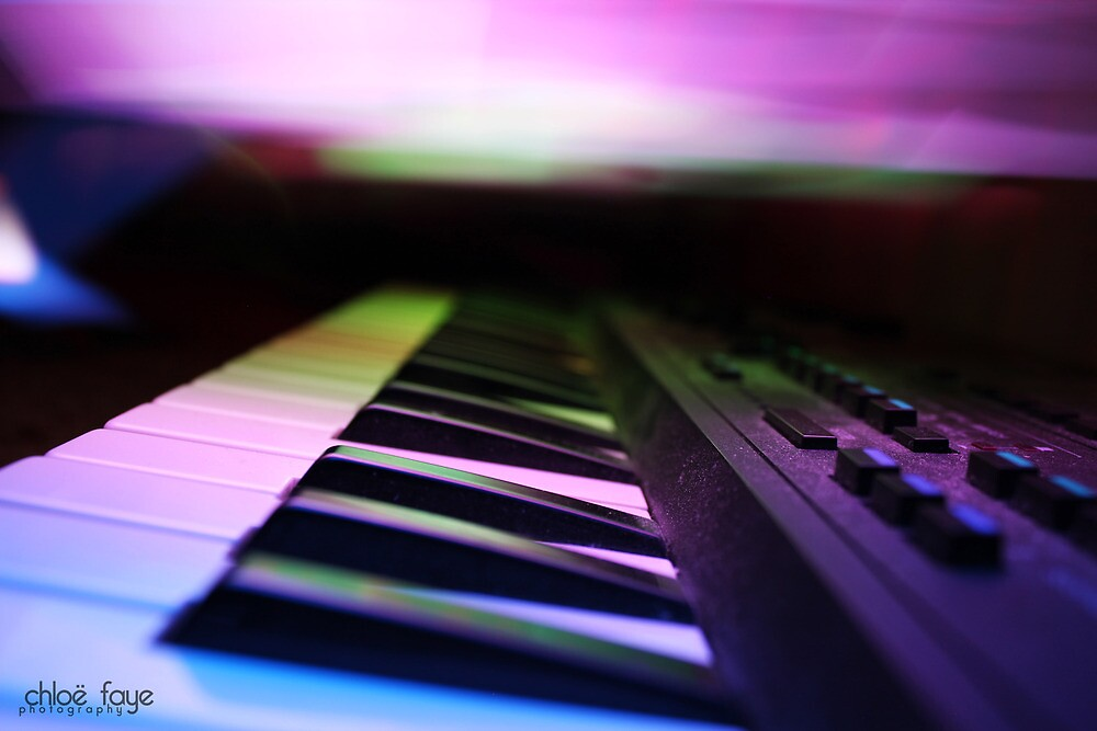 Musique (light art photography) by ChloeFaye