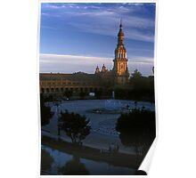Plaza de España, Seville 2003 Poster