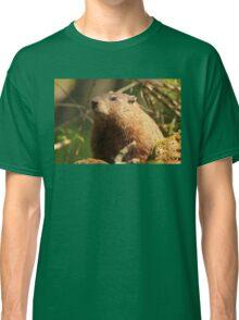 Close Encounter with a Groundhog Classic T-Shirt