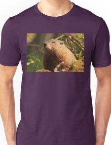 Close Encounter with a Groundhog Unisex T-Shirt