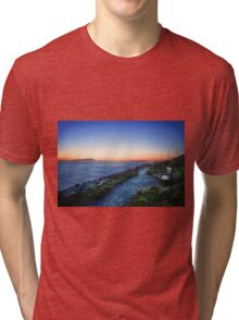 Twilight on the Water Tri-blend T-Shirt