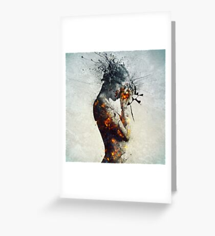 Deliberation Greeting Card