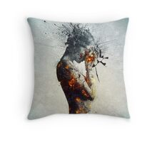 Deliberation Throw Pillow