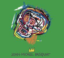 Jean Michel Basquiat Head Kids Clothes