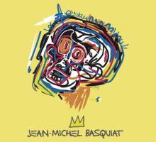 Jean Michel Basquiat Head Baby Tee