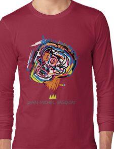 Jean Michel Basquiat Head Long Sleeve T-Shirt