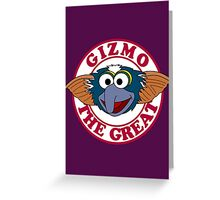 Gizmo the Great Greeting Card
