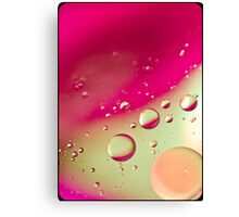 Pink Bubble Mix- Also iPhone Case Canvas Print