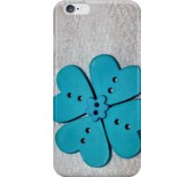 Blue Heart Flower [iPhone - iPod Case] iPhone Case/Skin