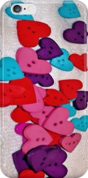 Handful of Hearts [iPhone - iPod Case] by aprilann