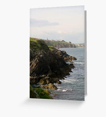 Coast View  Greeting Card
