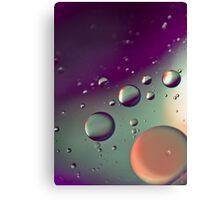 Purple Bubble Mix - Also iPhone Case Canvas Print