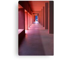 The Cloud Corridor Metal Print