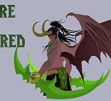 Illidan Stormrage (World of Warcraft) by Wildfiree