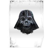 Darth Skull Zombie Poster