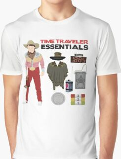 Back to the Future : Time Traveler Essentials 1885 Graphic T-Shirt