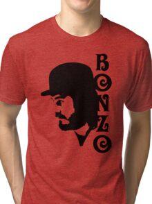 SOLID BLACK BONZO Tri-blend T-Shirt