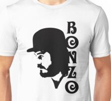 SOLID BLACK BONZO Unisex T-Shirt
