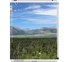 The Mountains Of Alberta iPad Case/Skin