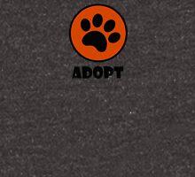 Adopt (Paw Print) Unisex T-Shirt