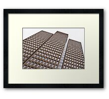 Office building. Framed Print