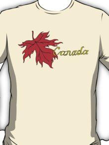 Canada Maple Leaf T-Shirt T-Shirt