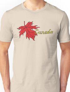 Canada Maple Leaf T-Shirt Unisex T-Shirt