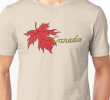 Canada Maple Leaf T-Shirt Unisex T-Shirt