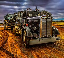 Truck Kenworth 1946 by Julia Harwood