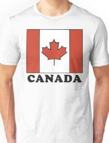 Canada Flag T-Shirt Canadian Flag T-Shirt Unisex T-Shirt