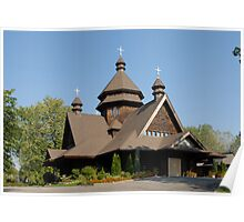 St. Mary's Ukrainian Catholic Church, Niagara Poster
