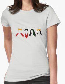 Arthur, Merlin, Morgana, Gwen Womens Fitted T-Shirt