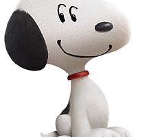 Snoopy Sticker - Peanuts Movie by teamrocketchu