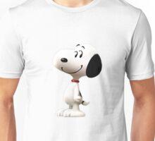 Snoopy Sticker - Peanuts Movie Unisex T-Shirt