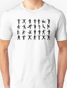 People Pattern T-Shirt